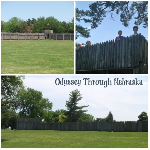 Fort Kearny Stockade Collage