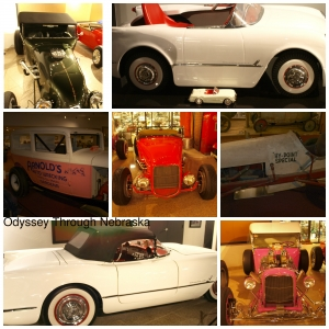 Museum of American Speed Classic Cars Collage