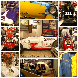 Museum of American Speed Racing Cars Collage