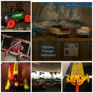 Museum of American Speed Ride Along Toy Collage