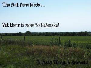 Nebraska's Flat Farm Land