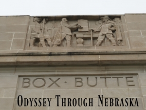 Box Butte County Engraved on the Nebraska Capitol