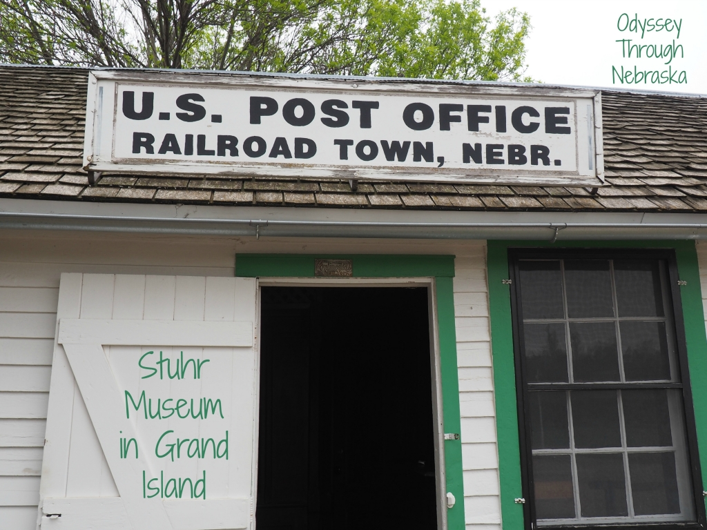 Railroad Town Stuhr Museum in Grand Island Nebraska