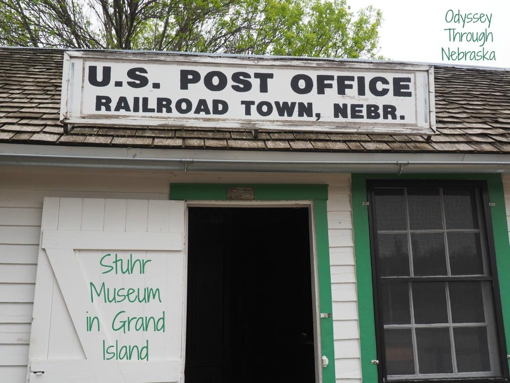 Railroad Town Stuhr Museum in Grand Island Nebraska