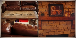 Single Barrel Restaurant fireplace