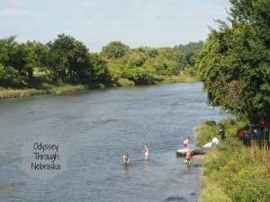 Valentine Nebraska has many places to explore including the Niobrara River
