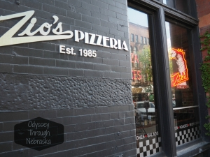 Zio's Pizza has been serving up New York style pizza in Omaha since 1985