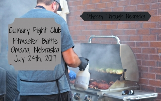Pitmaster Battle in Omaha on July 24 2017 for the Culinary Food Fight