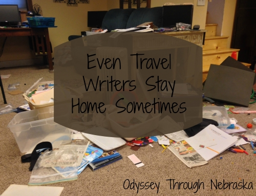 Even Travel Writers Stay Home Sometimes