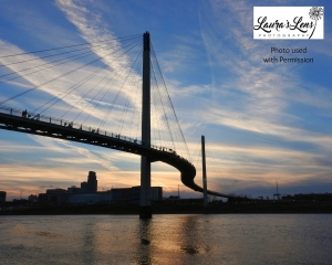 Bob Kerrey Bridge in Omaha by Laura's Lens Photography