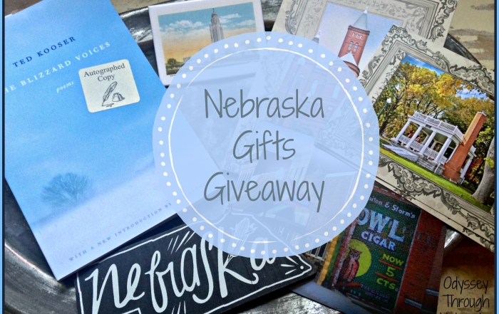 The gifts in this giveaway all represent Nebraska