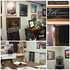 The Renaissance Fine Art and Photography Interior Collage