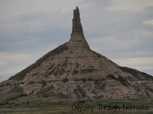 Cover Picture Chimney Rock near Bayard Nebrasksa