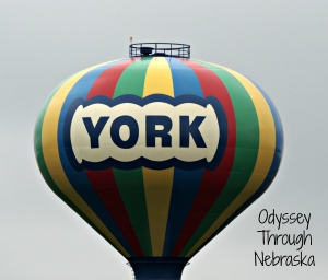 the iconic York Water Tower