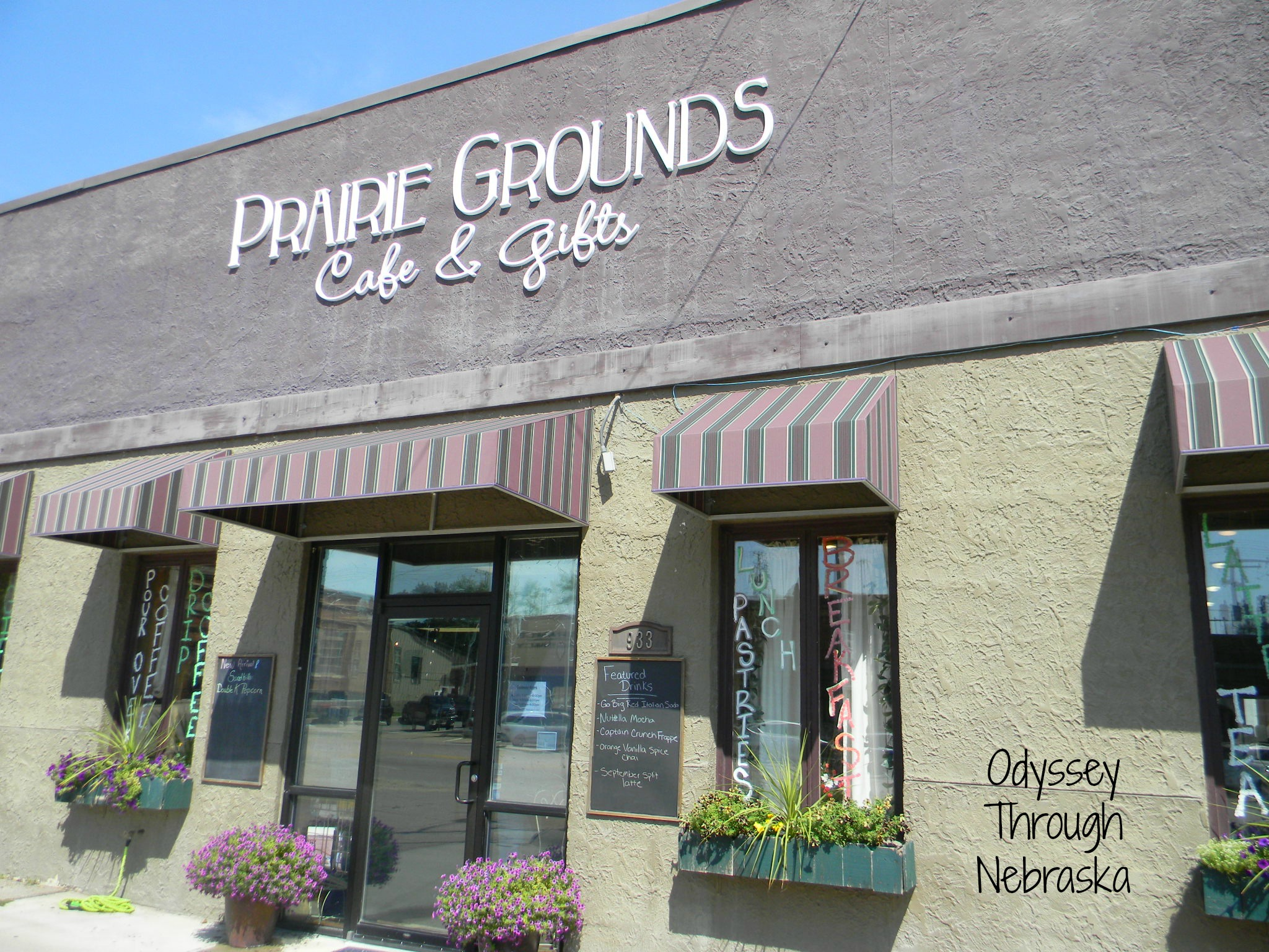 Prairie Grounds Cafe And Gifts In Broken Bow Nebraska