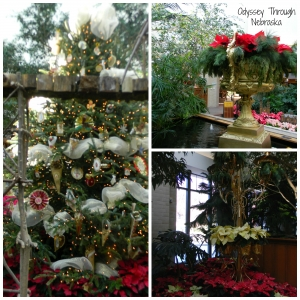 Lauritzen Gardens During the Holidays