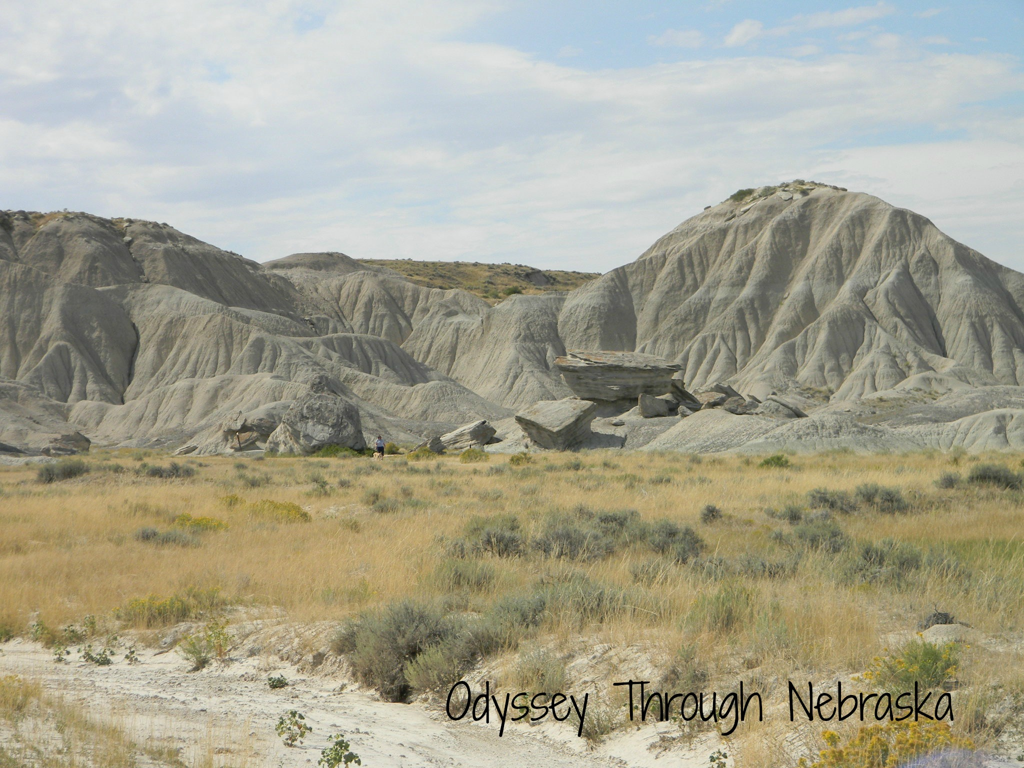 Toadstool Geologic Park in Nebraska