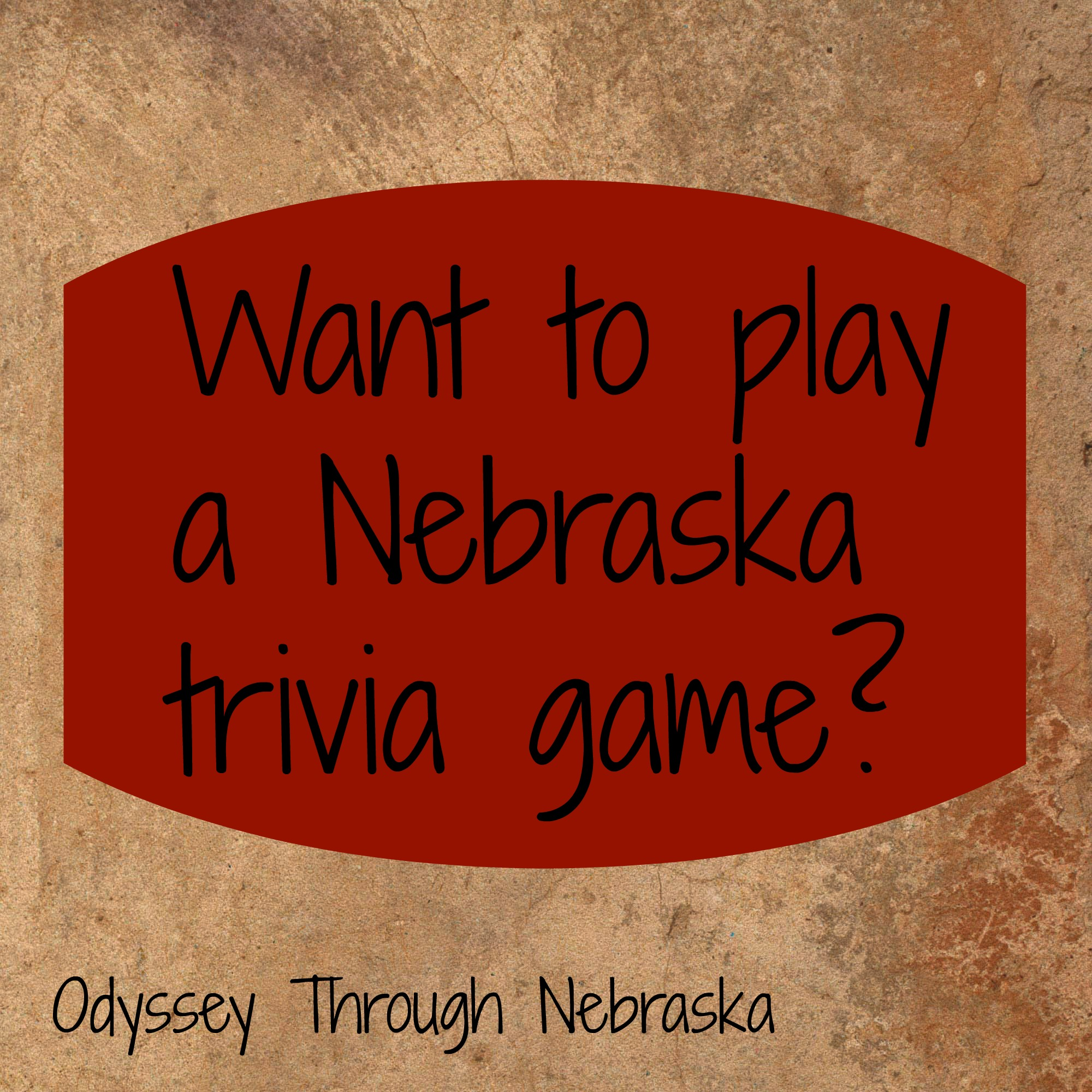 Ten Nebraska history Trivia questions