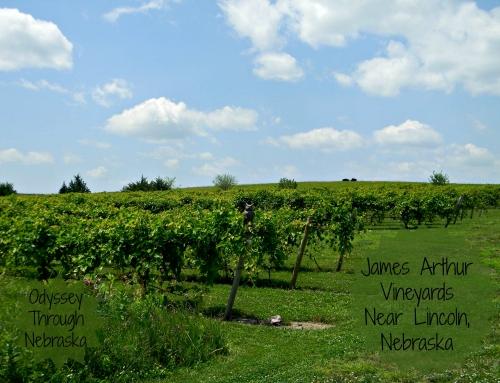 Growing Grapes in Nebraska?: James Arthur Vineyards & Winery