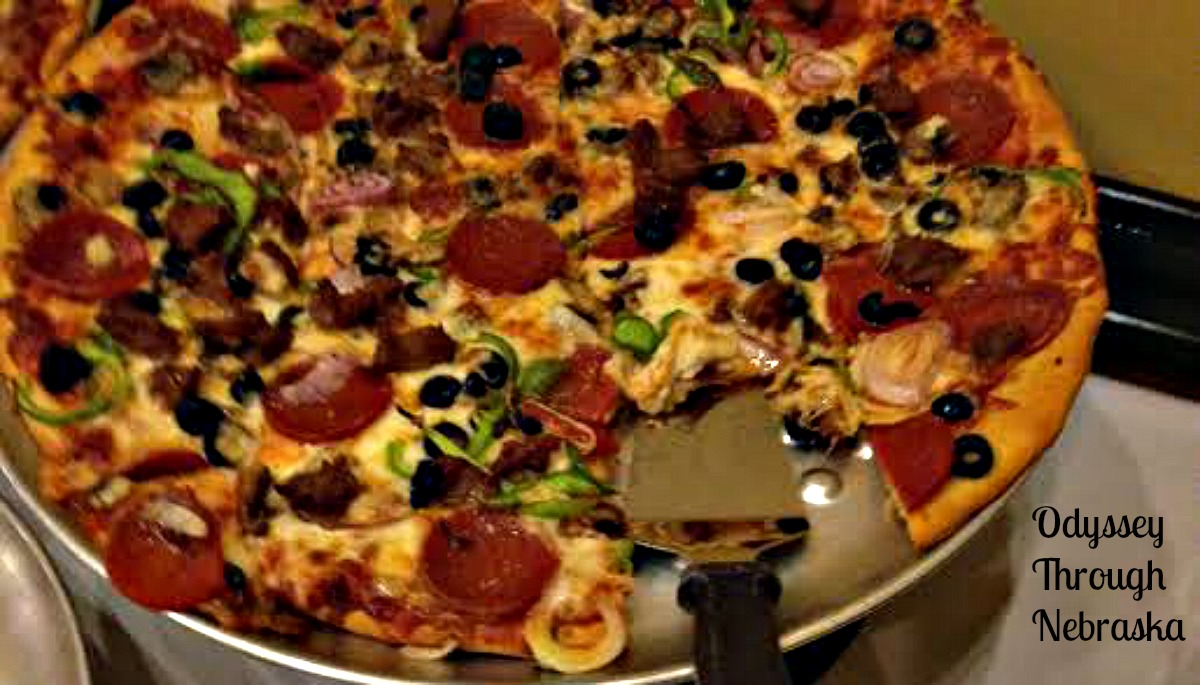 Ragazzi's serves pizza in the Omaha area