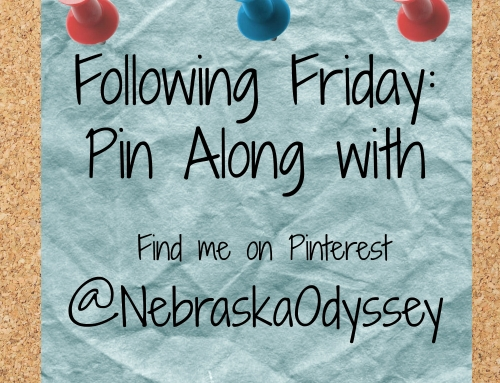 Following Friday: Pin along with Nebraska Odyssey