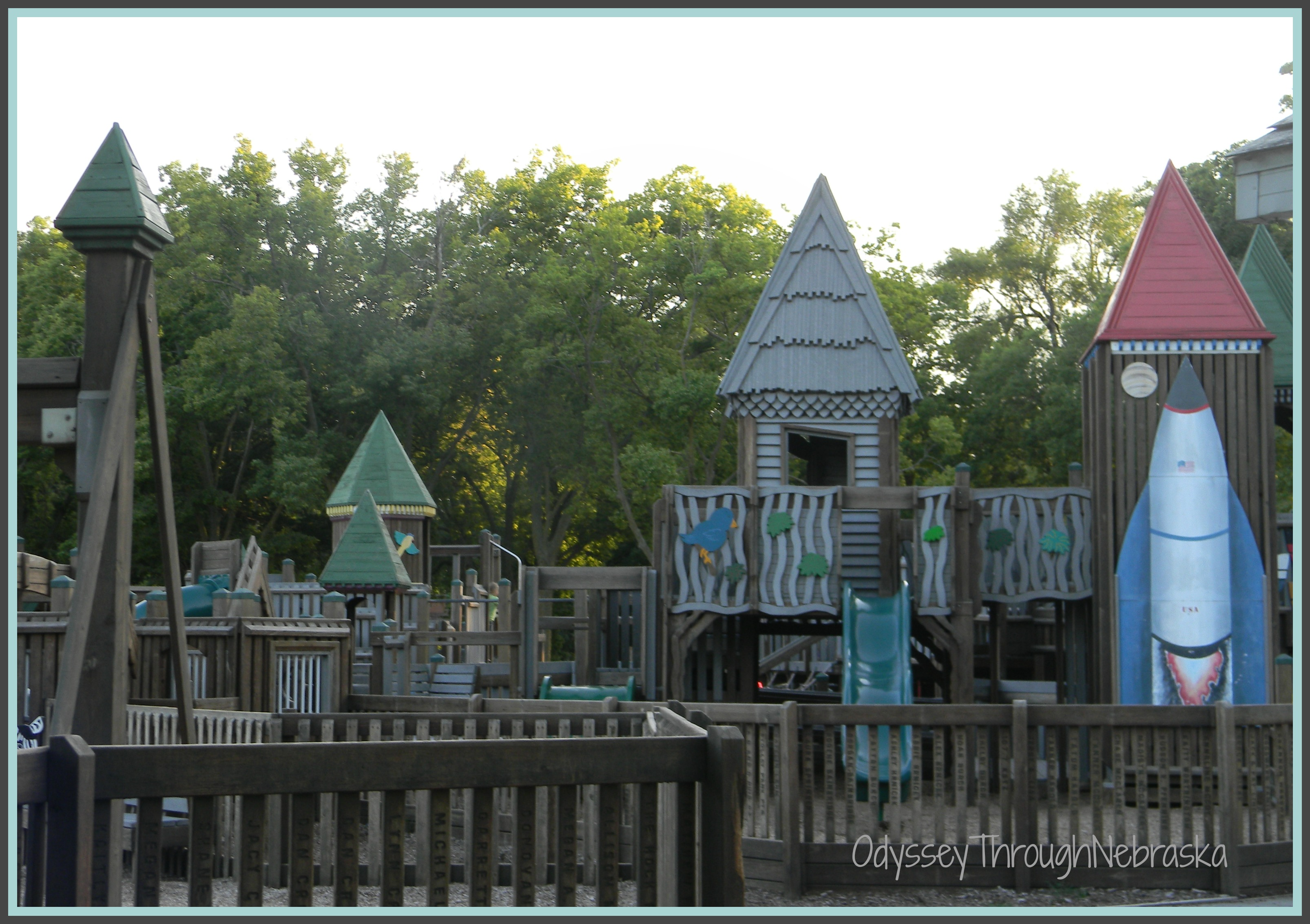 Stolley Park a fun park in Grand Island Nebraska