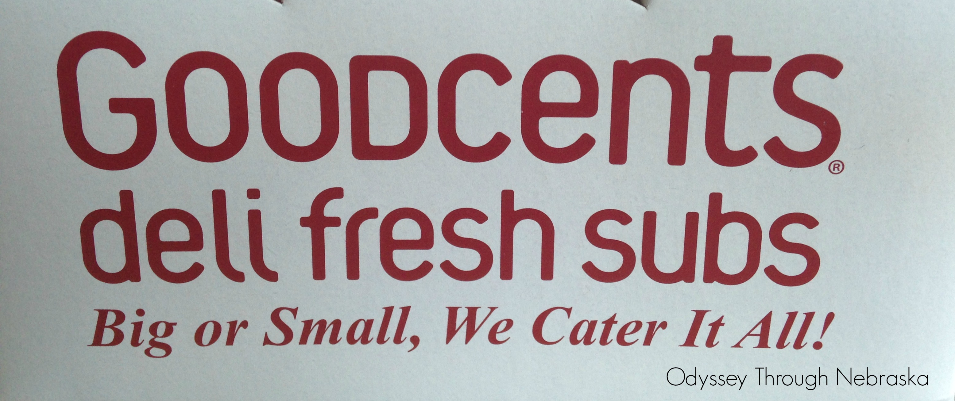 Mr. Goodcents catering sandwiches in Nebraska