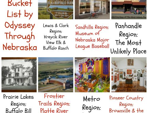 Nebraska Bucket List by Odyssey Through Nebraska