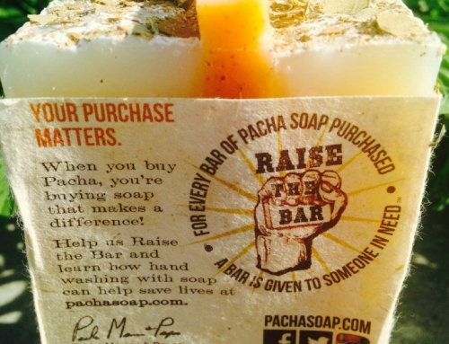 Raise the Bar: Pacha Soap Giveaway