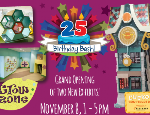 Happy 25th Birthday, Lincoln Children's Museum!!!