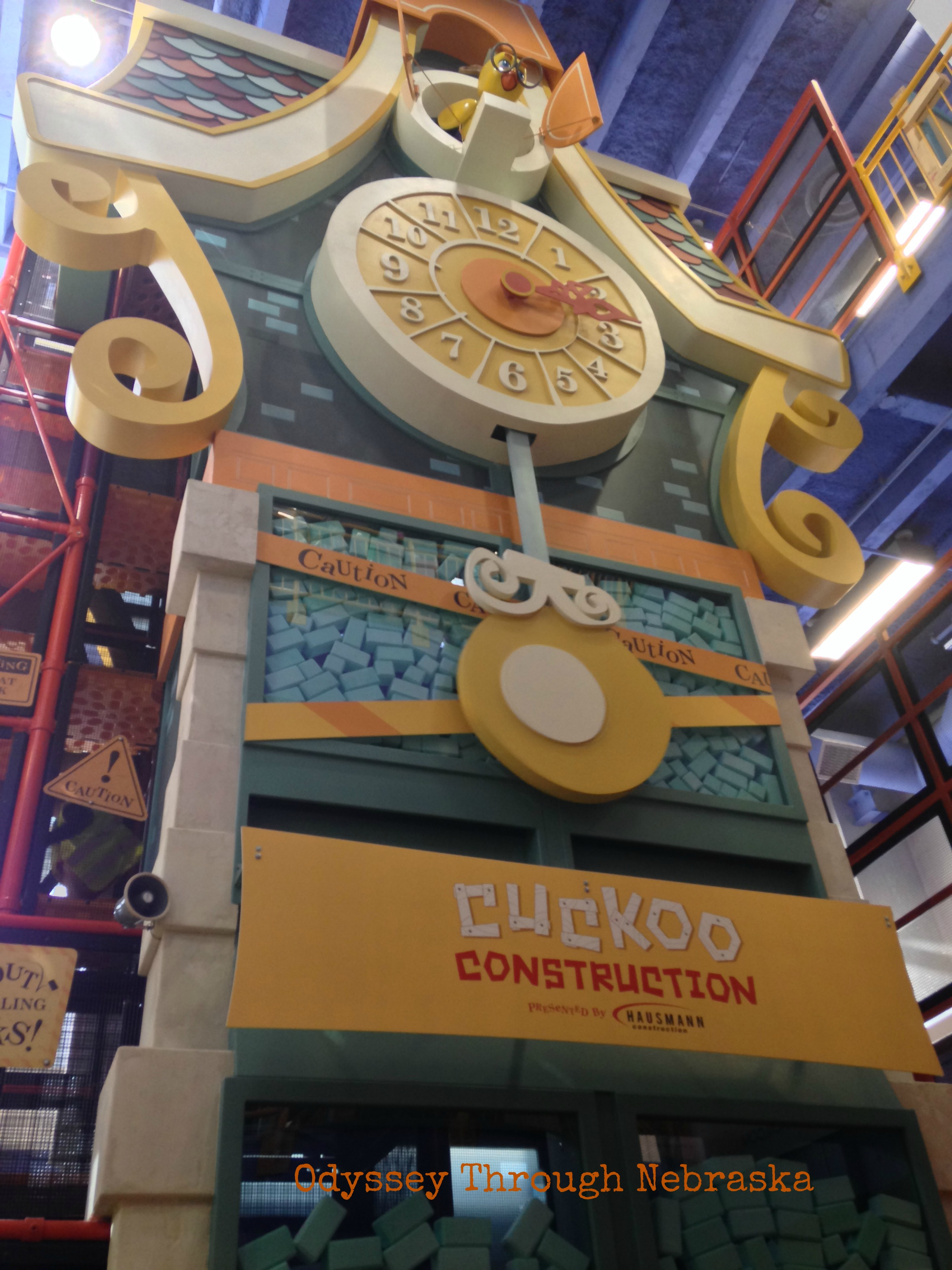 Cuckoo Construction at the Lincoln Children's Museum