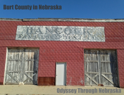 Burt County in Nebraska