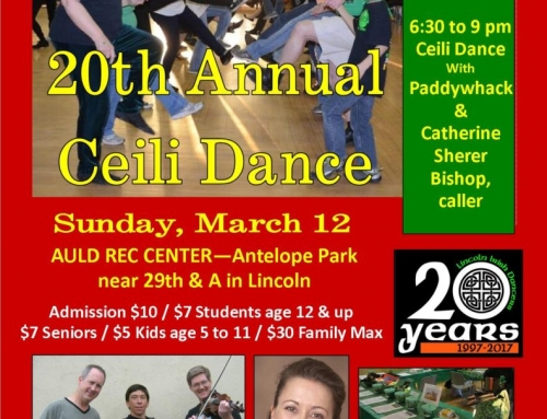 Celebrate the Irish in Lincoln: Annual Ceili Dance