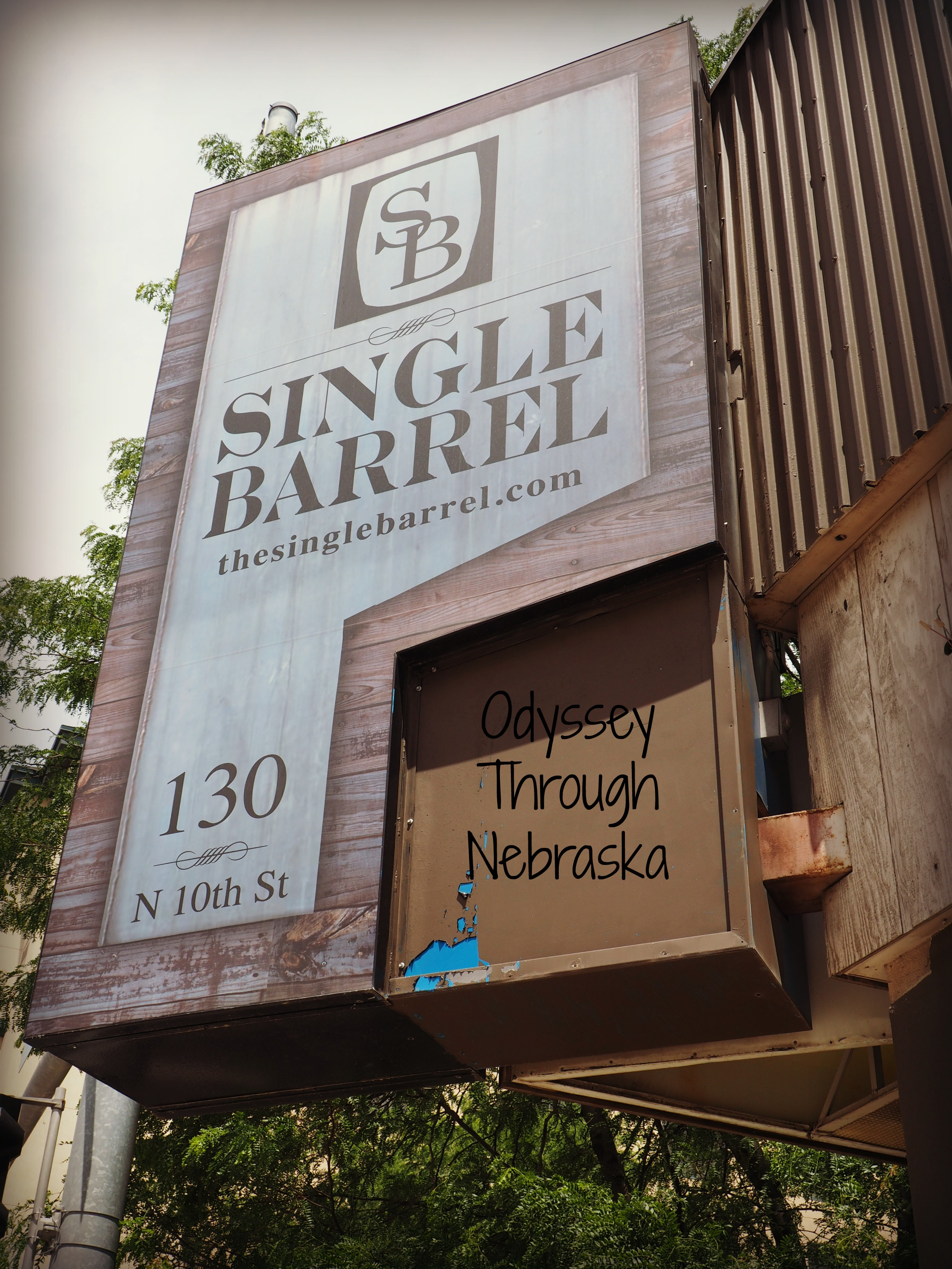 Dining at the Single Barrel Restaurant in Downtown Lincoln