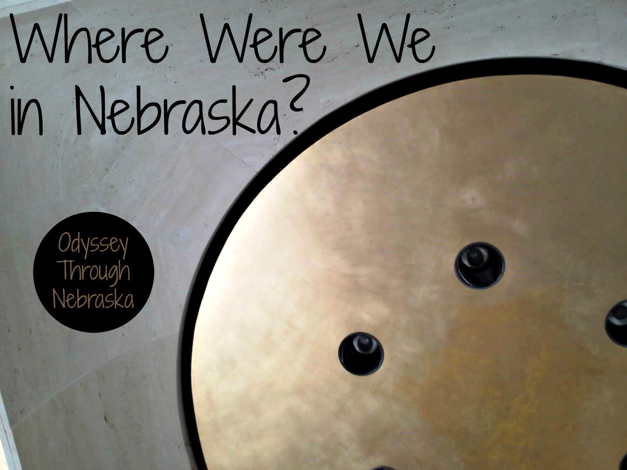 This 9-25-13 Wordless post features a place in Nebraska