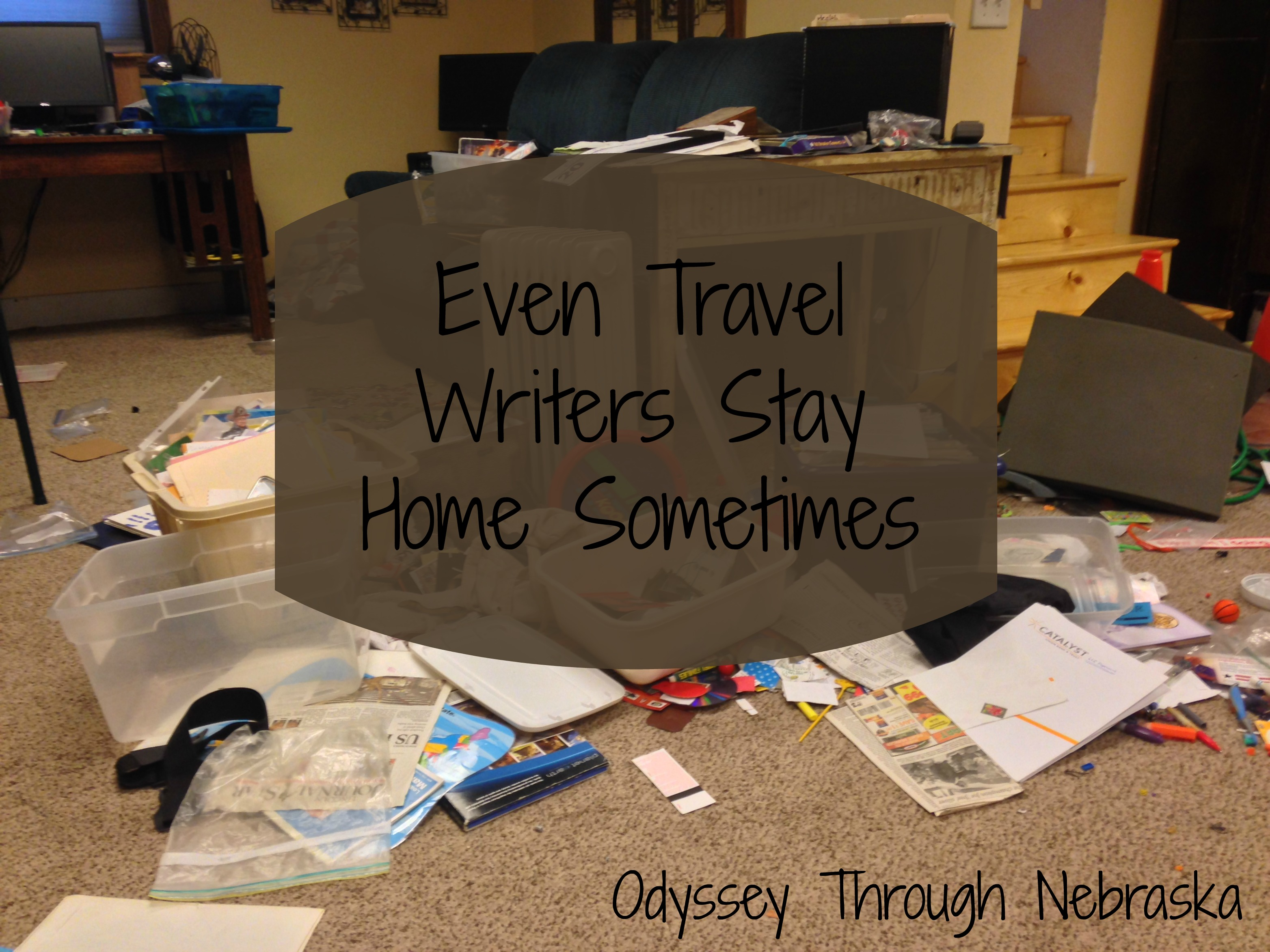 Travel Writers are not traveling all of the time - they also stay home