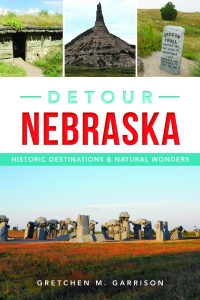 This is the cover of the book Detour Nebraska available on October 30th 2017