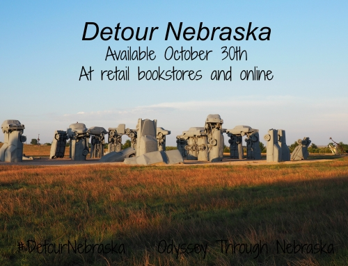 Detour Nebraska – My Book about Nebraska Detours is Available October 30th, 2017