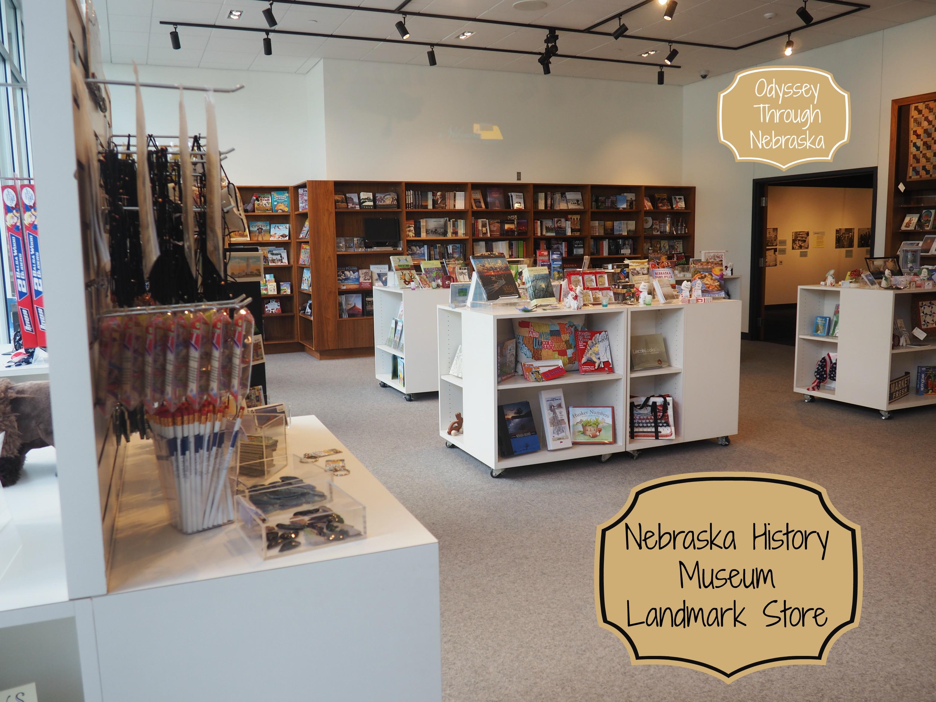 Nebraska History Museum Landmark Store for Nebraska Items Feature Image
