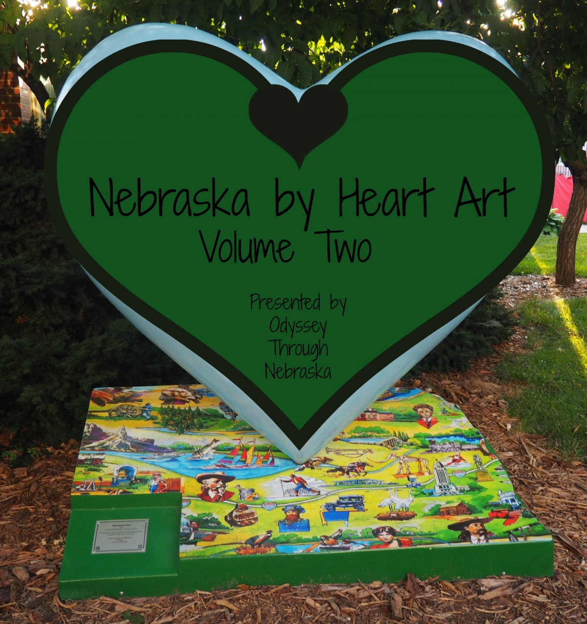 Nebraska by Heart Art Volume 2 in honor of the Nebraska sesquicentennial