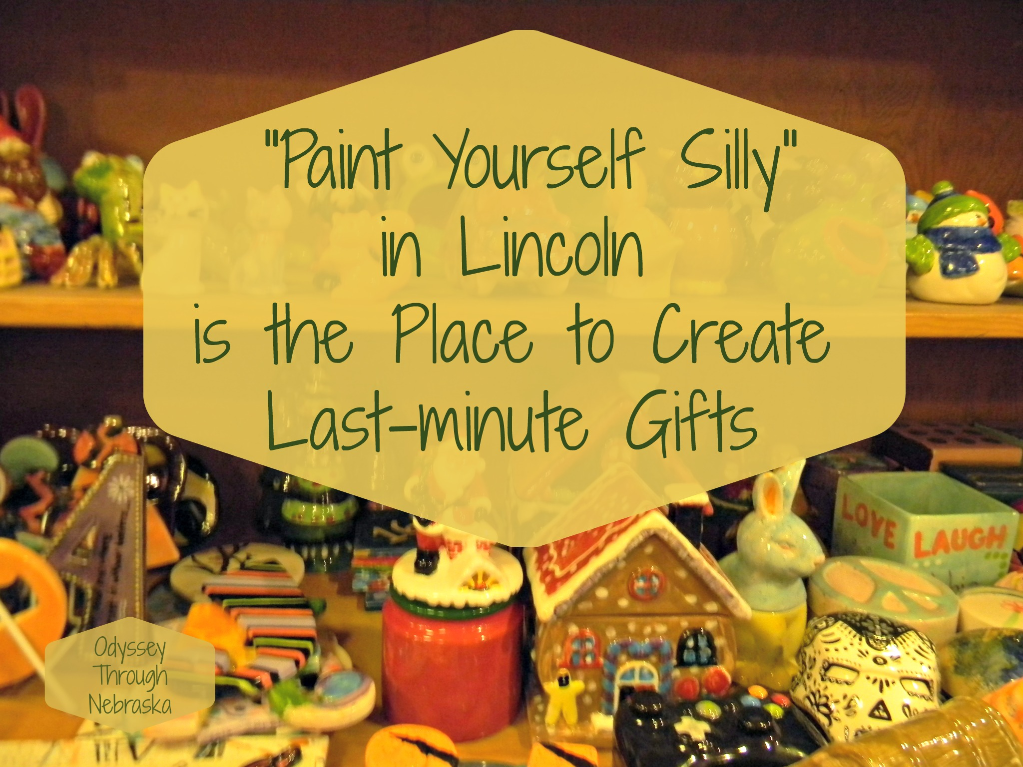 Paint Yourself Silly in Lincoln has many gift possibilities