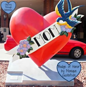 Downtown Lincoln Art Nebraska by Heart