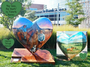 Nebraska by Heart Art at the Railyard and Airport