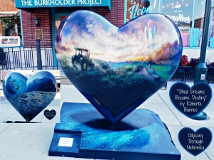 Haymarket Hearts Nebraska by Heart