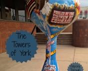 Water tower art found in York Nebraska