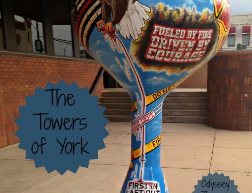 Water Tower Sculptures: The Towers of York