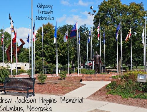 Andrew Jackson Higgins Memorial: Day 9 #DetourNebraska Challenge