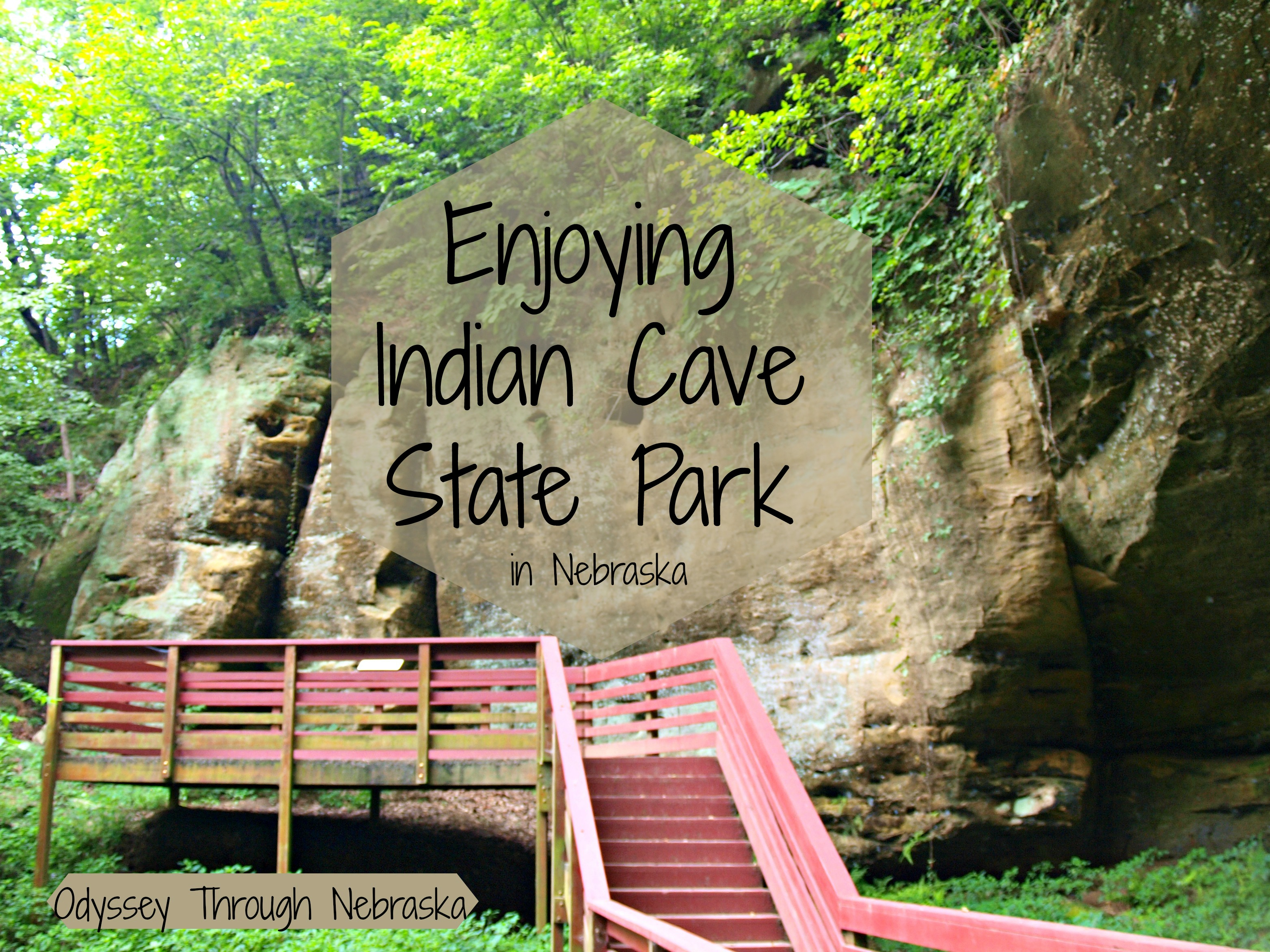 Indian Cave State Park in Nebraska