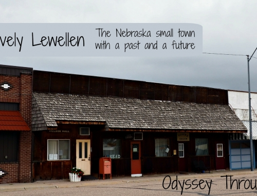 Lewellen and the Lovely Possibilities: Day 25 #DetourNebraska Challenge