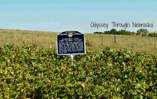 Nebraska Historical Marker Near Denton